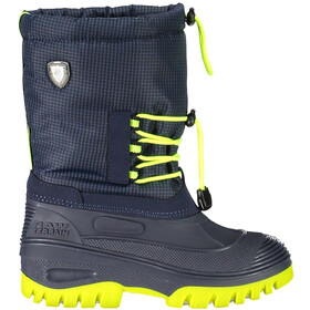 CMP Campagnolo Ahto WP Snow Boots Junior Black Blue